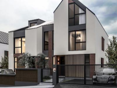 Duplex cu 5 camere, finisat exterior, 160 mp,  Buna Ziua!
