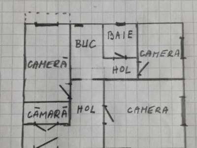 Apartament 3 camere, 53 mp, Plopilor
