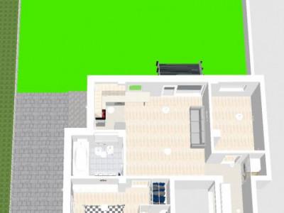 Apartament cu 3 camere, zona Lidl Buna Ziua