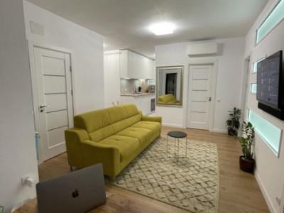 Apartament cu 4 camere, etaj 8/10, 48 mp, zona Auchan Iris