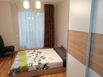 Apartament cu 3 camere, izolat si mobilat in bloc nou cu parcare inclusa!